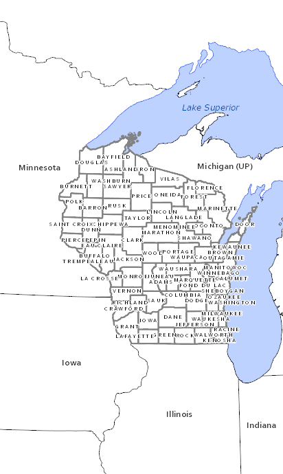 Wisconsin Drainage Districts